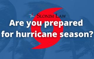 Hurricane Season Prepardness Guide for Florida