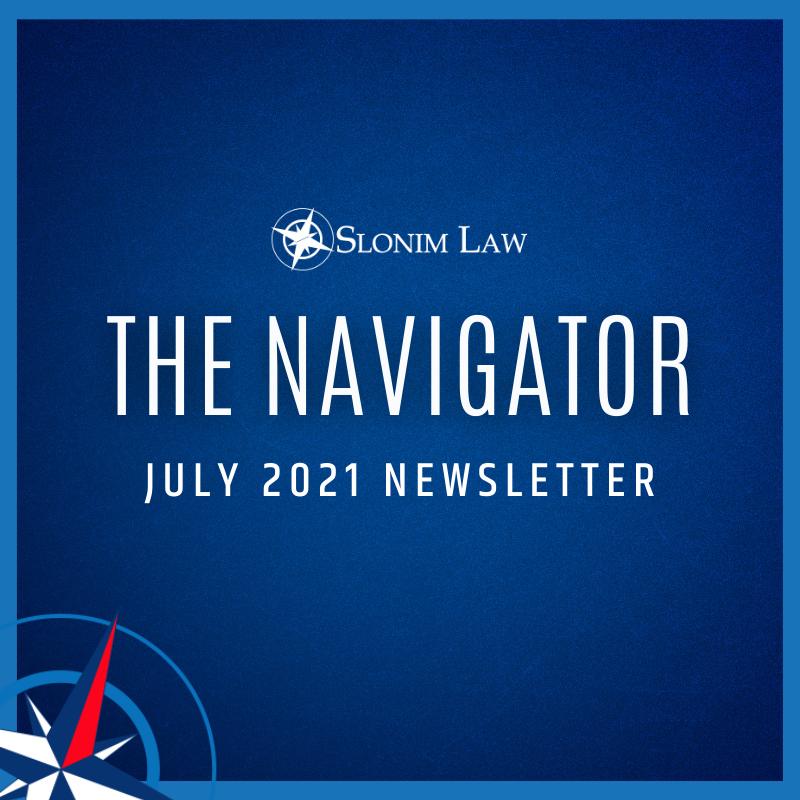 Slonim Law July Newsletter